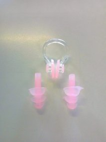 Nose PLugs and Ear Plugs - for Swimming - Art. NL01RD
