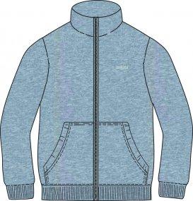 Spring sweatshirt for Men - Brugi - Art. F61V972