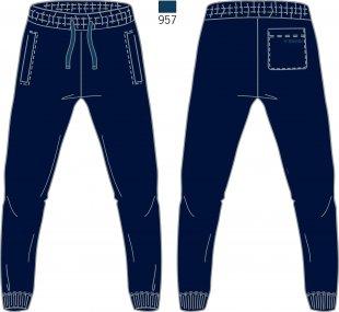 Men's Tracksuit Pants - Brugi - Art. F74U960
