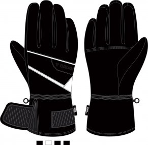 Ski Gloves for Men - Brugi - Art. ZC1Y7J9