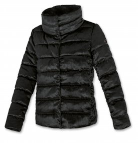Quilted Down Jacket for Woman - Brugi - Art. C15U500