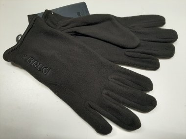 Fleece Gloves for Men - Brugi - Art. ZA1W500