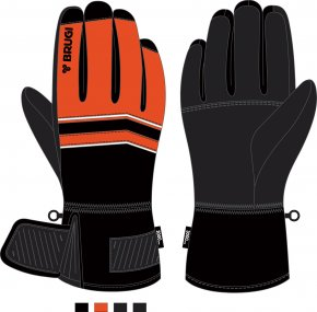 Ski Gloves for Boys - Brugi - Art. J317RYY