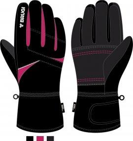 Ski Gloves for Girls - Brugi - Art. J612BCK