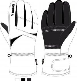 Ski Gloves for Girls - Brugi - Art. J6121K9
