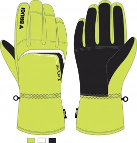Ski Gloves for Boys - Brugi - Art. J614VTT