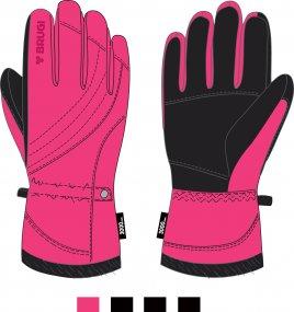 Ski Gloves for Girls - Brugi - Art. JU15SZE