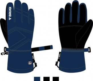 Ski Gloves for Men - Brugi - Art. Z84HHZ2