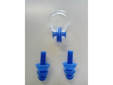 Nose PLugs and Ear Plugs - for Swimming - Art. NL01BU