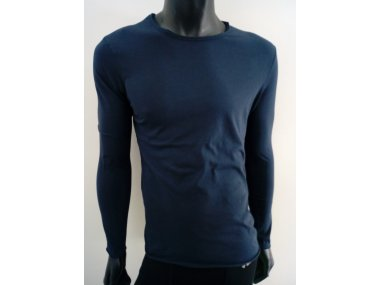 Man T-Shirt in pure Cotton - Long Sleeves | Made in Italy - Art. FK-3106B