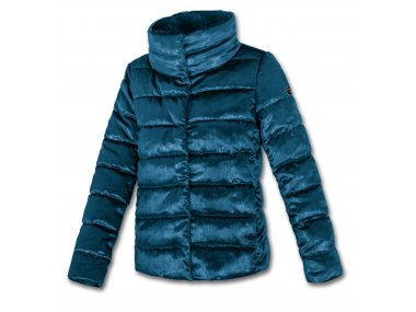 Quilted Down Jacket for Woman - Brugi - Art. C15U430