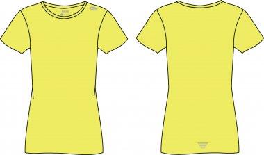 Maglietta da running per Donna - Brugi - Art. H51F047