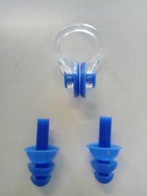 Stringinaso e tappi orecchie per il nuoto - Art. NL01BU