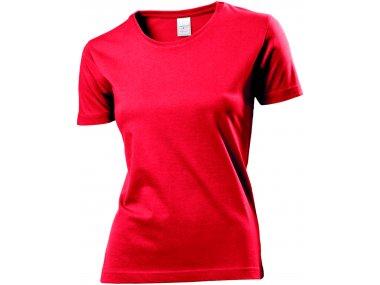 Maglietta girocollo maniche corte - Donna - Art. ST2600SRE
