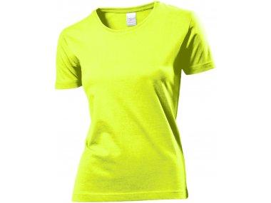 Maglietta girocollo maniche corte - Donna - Art. ST2600YEL