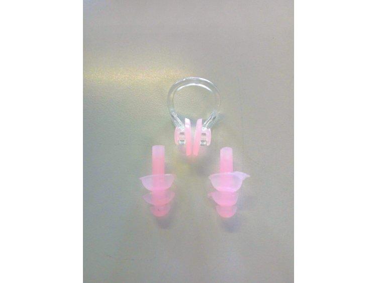 Stringinaso e tappi orecchie per il nuoto  Art. NL01RD (1)