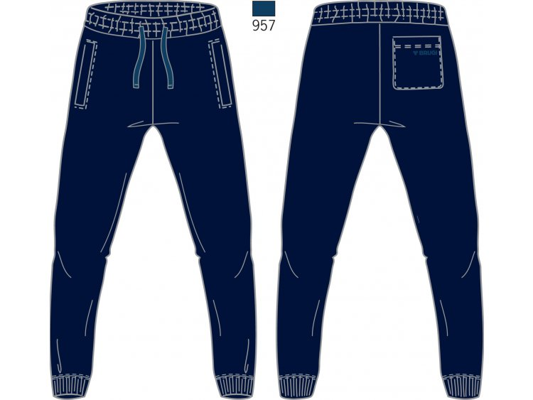 Pantalone Tuta Uomo - Brugi  Art. F74U960 (1)