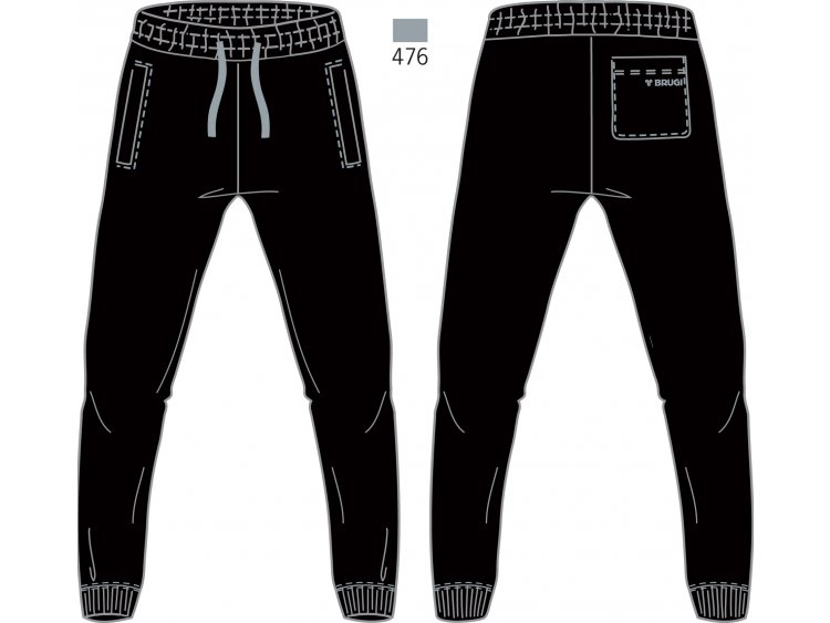 Pantalone Tuta Uomo - Brugi  Art. F74U500 (1)