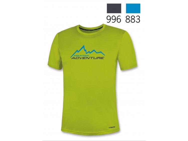 Maglietta sportiva a maniche corte per Uomo - Brugi  Art. N64L690 (1)