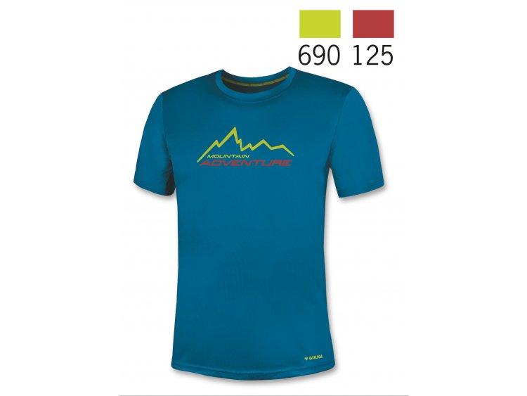 Maglietta sportiva a maniche corte per Uomo - Brugi  Art. N64L889 (1)