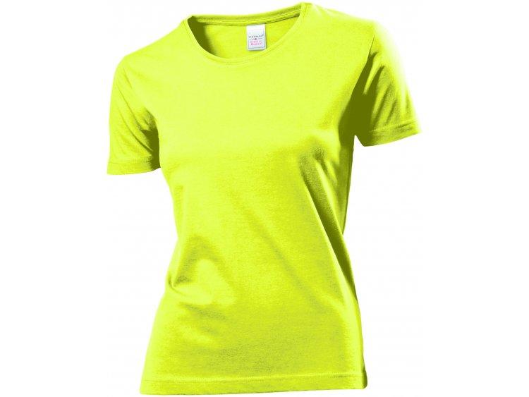 Maglietta girocollo maniche corte - Donna  Art. ST2600YEL (1)