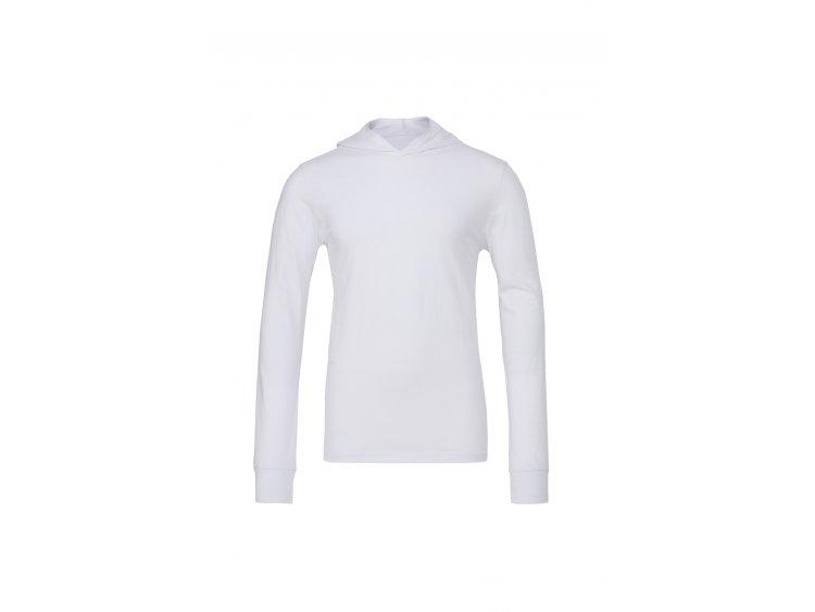 Maglietta manica lunga con cappuccio _ Uomo  Art. B3512WH (1)